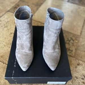 Steve by Steve Madden Suede Ankle Boots